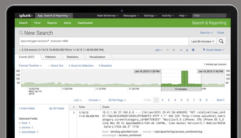 Avis Splunk Enterprise : Le moyen le plus rapide d'agréger et d'analyser les données - Appvizer