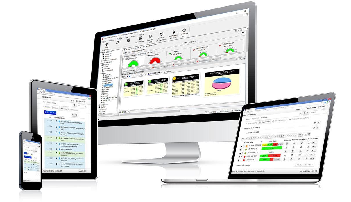 Avis Visual TOM : Automatisation des tâches et orchestration des processus - appvizer