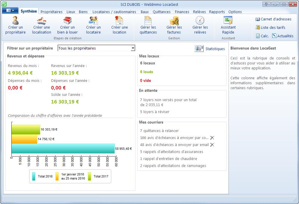 Avis LocaGest : Le logiciel de gestion locative accessible et efficace - Appvizer