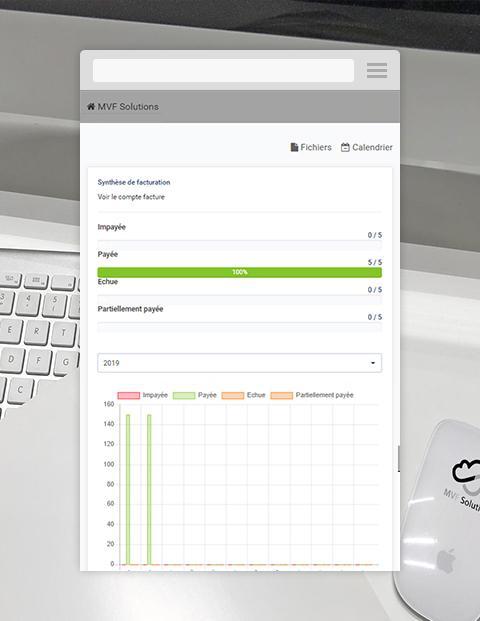 Espace client version mobile