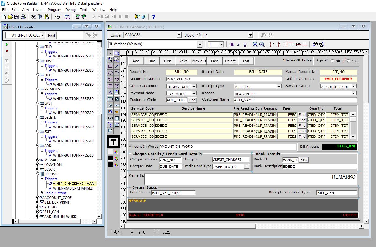 Avis Oracle Forms : Développe les applications internet des grandes entreprises - appvizer