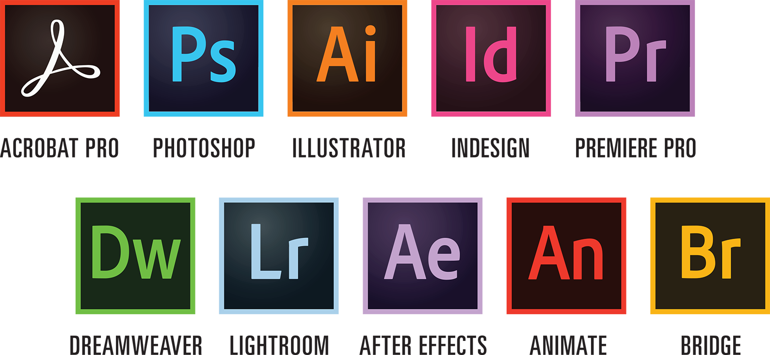 Avis Adobe Creative Cloud : Un accès aux applications de vidéo, design, photo et web - appvizer
