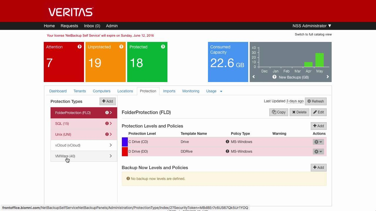 Avis NetBackup : Solution de sauvegarde optimisée pour environnement cloud - Appvizer