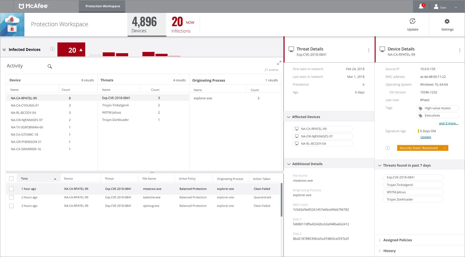 Avis Mcafee MVISION Cloud : La protection des données cloud pour grandes entreprises - appvizer