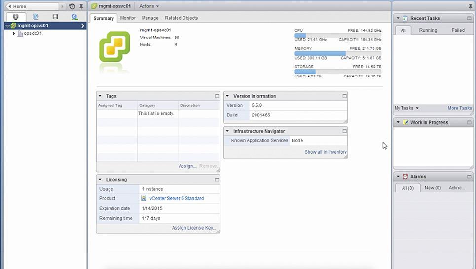 Avis vSphere : Solution de virtualisation performante pour Cloud hybride - Appvizer