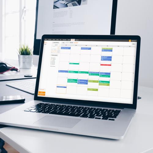 Un agenda en ligne avec des calendriers partagés pour améliorer la communication au sein de l'entreprise et être toujours ponctuel