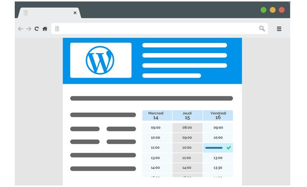 Plugin Wordpress de réservation en ligne