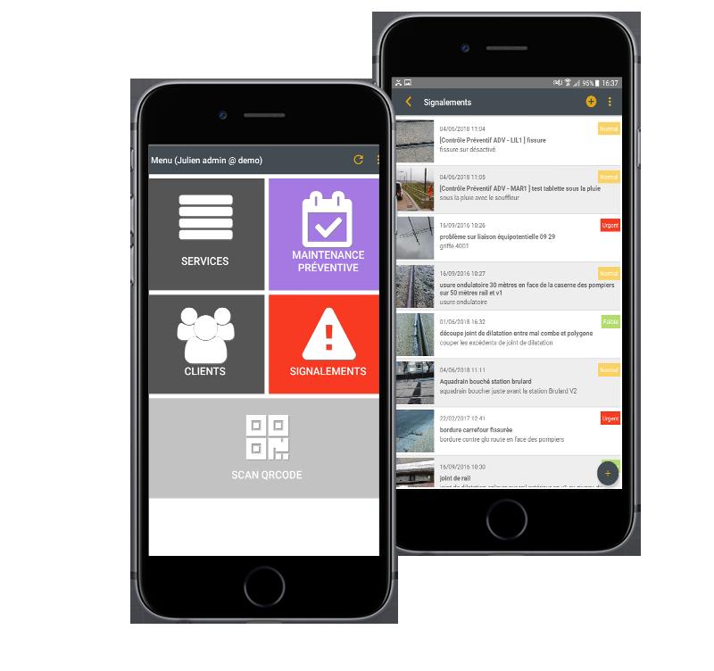 Application mobile Flexio