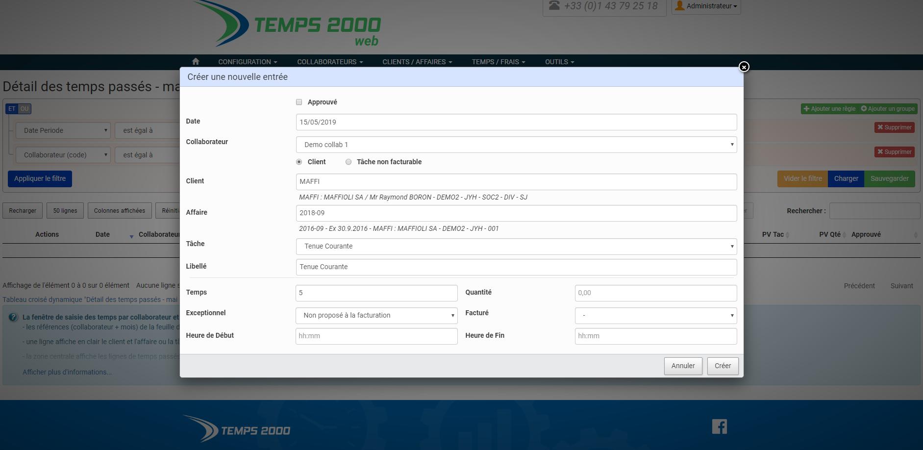 Avis Temps 2000 : Gestion des temps : facturez efficacement ! - appvizer