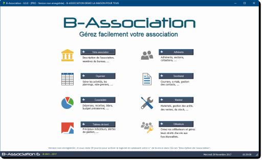 Avis B-association : Un logiciel de gestion d'association paramétrable - appvizer