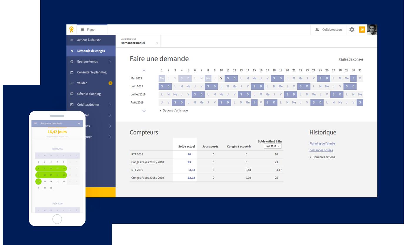 Lucca SIRH-ergonomie-screenshot