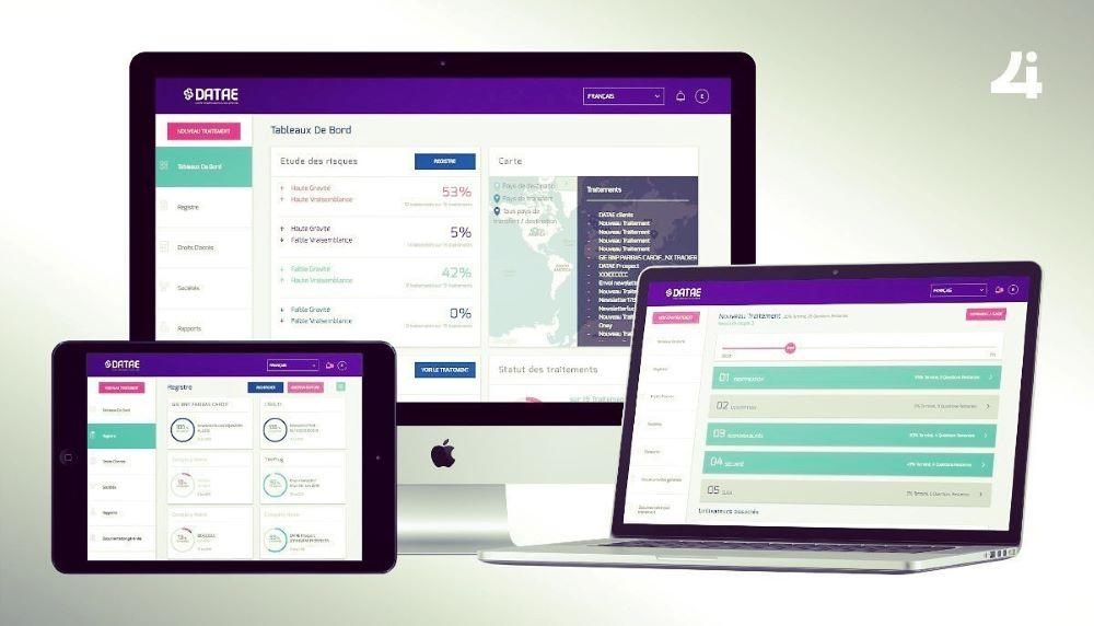 Dashboard et registre des activités de traitement