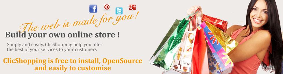 Avis ClicShopping : Open Source e-commerce B2B / B2C,gratuite, facile à utiliser - Appvizer