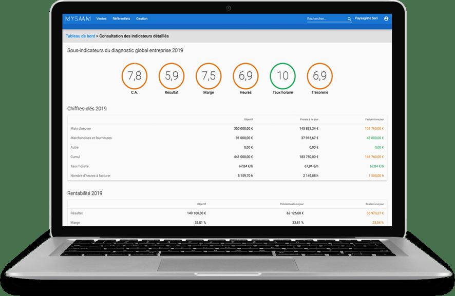 Avis My-Saam Vision : Logiciel de facturation en ligne et gestion commerciale - appvizer