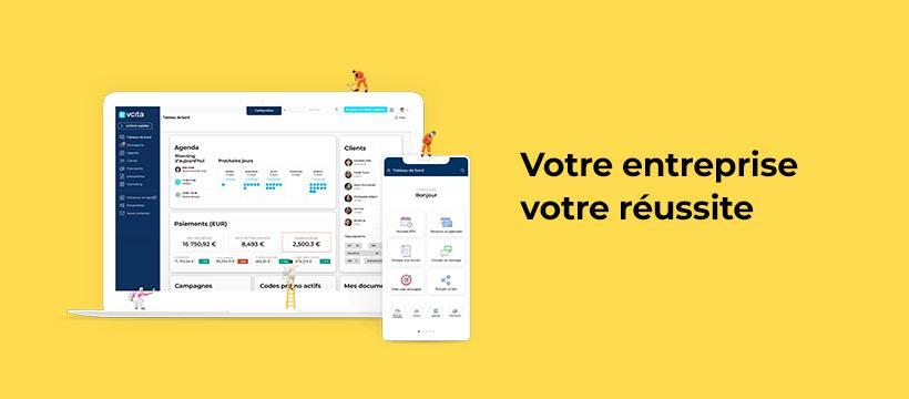 Avis Vcita : Tous les outils pour gérer votre entreprise en une appli - appvizer