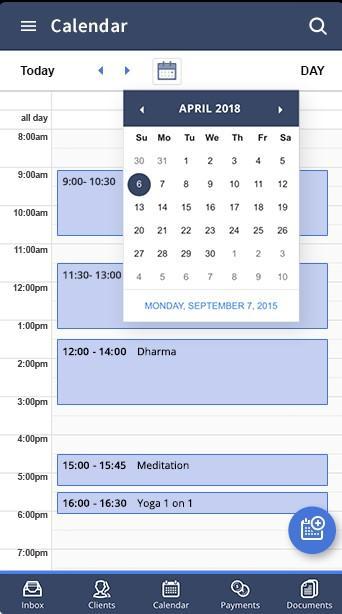 Agenda - mobile