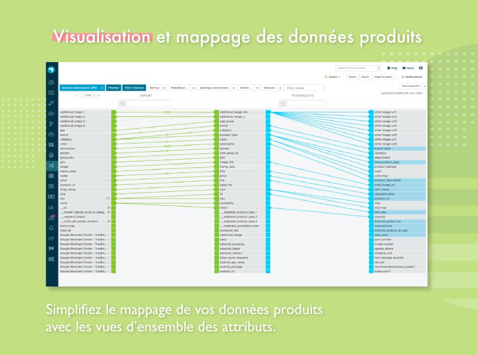 Automatisez le mappage de vos attributs
