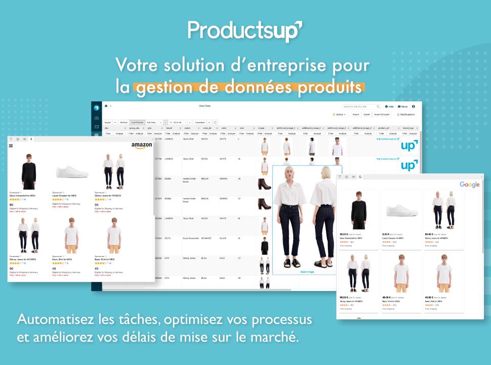 Gérez vos données produits avec Productsup