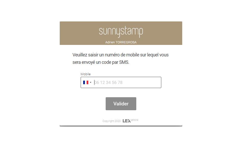 Sunnystamp-Un OTP pour une authentification forte