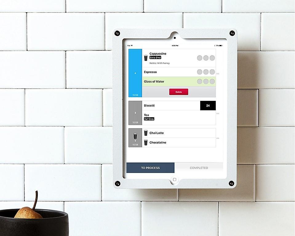 iPad pour cuisine (sans ticket)
