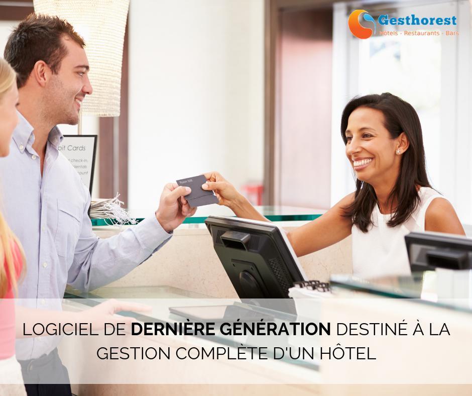 Logiciel de dernière génération pour la gestion de votre hôtel