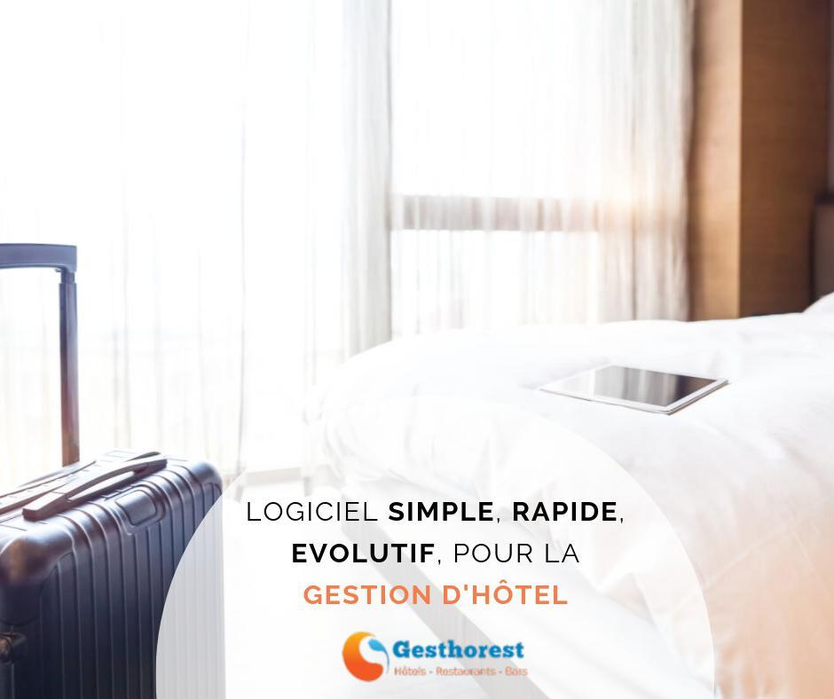 Logiciel de gestion d'hôtels simple radine et évolutif