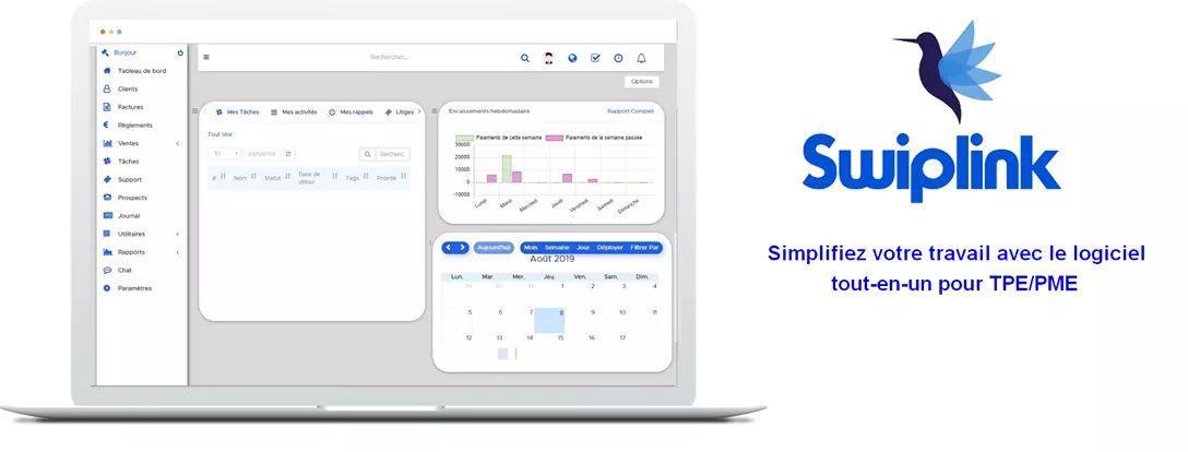 Avis Swiplink : Un CRM qui s'adapte à vous - Appvizer