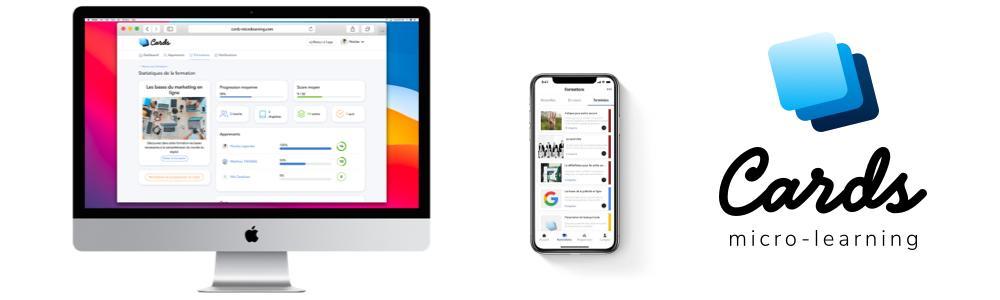 Avis Cards micro-learning : Solution de micro-learning - appvizer