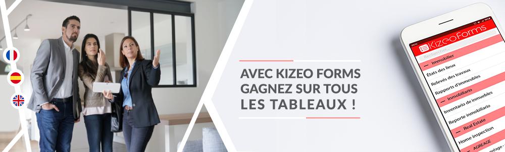 Avis Kizeo Forms Immobilier : CR de visite automatisé pour gestion et transaction - appvizer