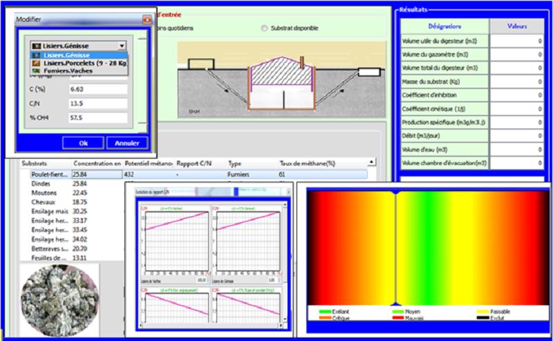 Les interfaces pour Biomasse
