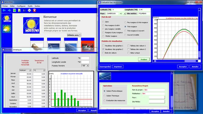Suite logiciels MOUTENS-Solarius