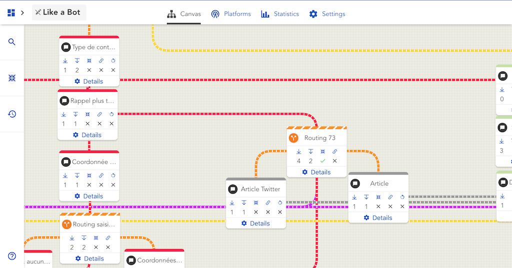 Avis LIKE A BOT : Le chatbot builder qui sait vous accompagner - Appvizer