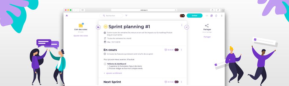 Avis Aster : Menez des réunions productives - Appvizer