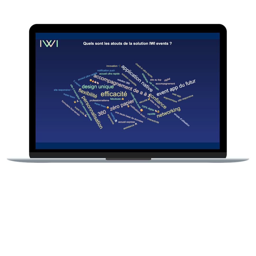 IWI events-Nuage de mots