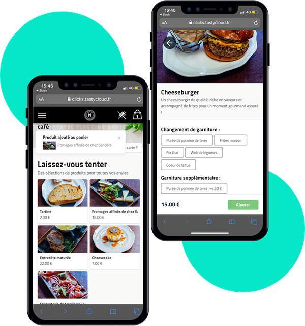 Le menu QR code - votre carte de restaurant, accessible depuis chaque smartphone grâce au QR code