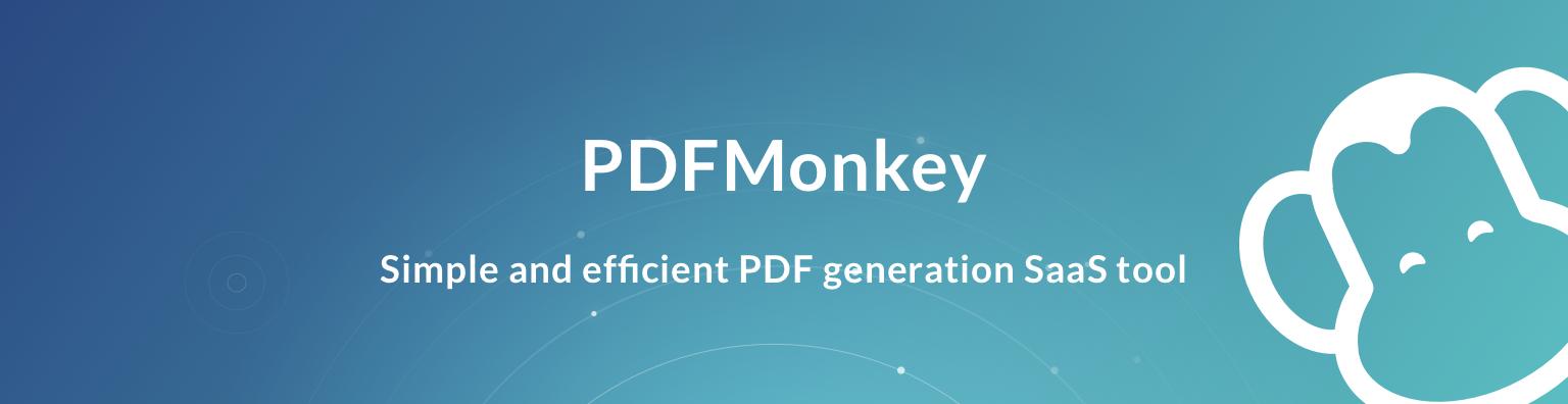 Avis PDFMonkey : Automatisez votre génération massive de PDF - appvizer