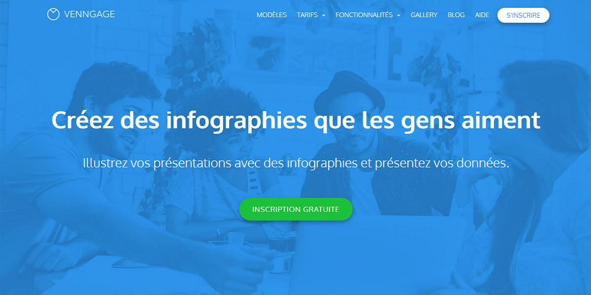 Avis Venngage : Créez des infographies en ligne gratuitement - Appvizer