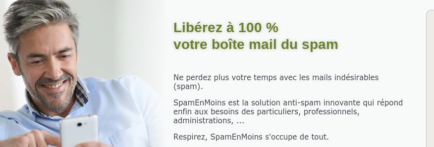 Avis SpamEnMoins : Elimine 100% des spams sans aucun programme à installer - Appvizer