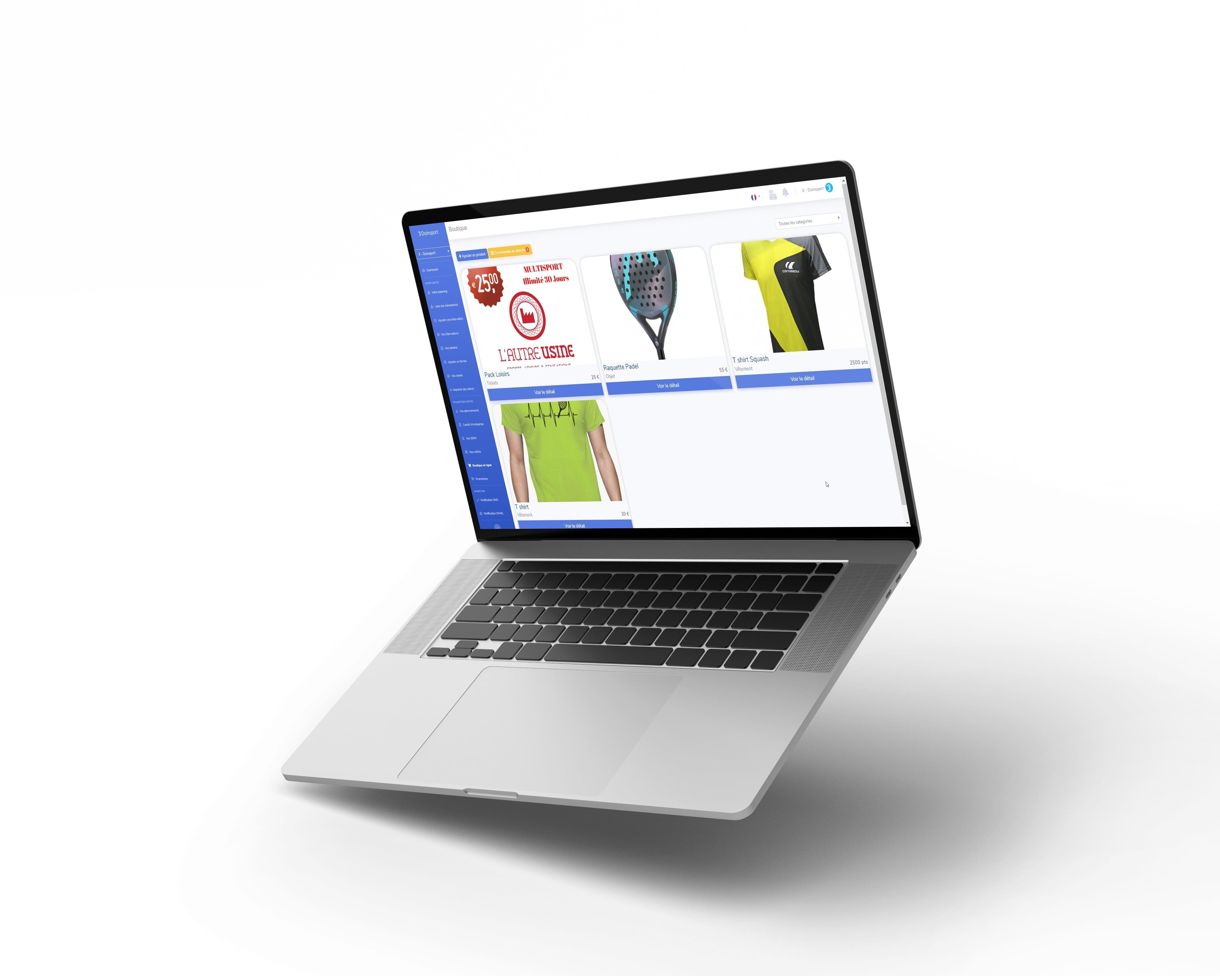 Boutique en ligne proshop