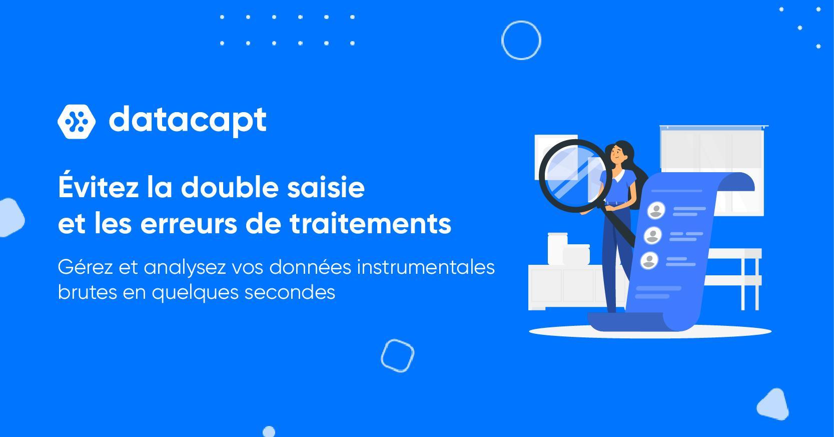 Avis Datacapt : Traitement de données instrumentales brutes - appvizer