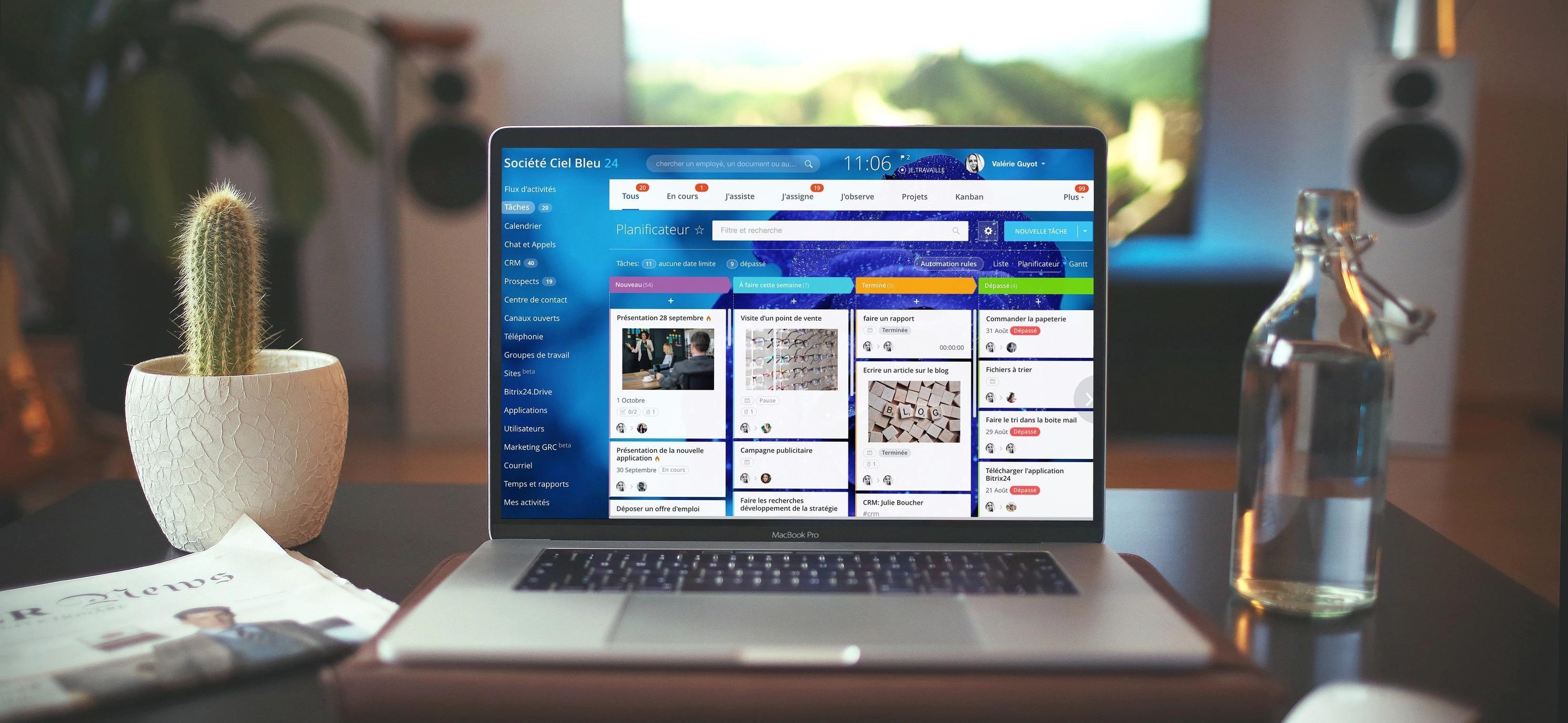 Avis Bitrix24 Gestion de projet : Plateforme gratuite pour votre gestion de projets - Appvizer