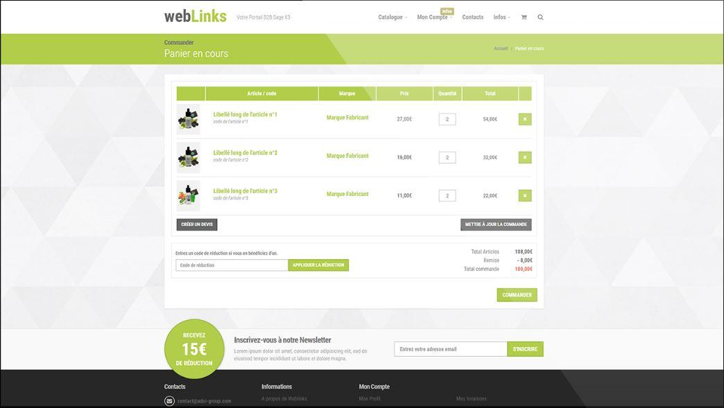 Weblinks-Screen Weblinks 3