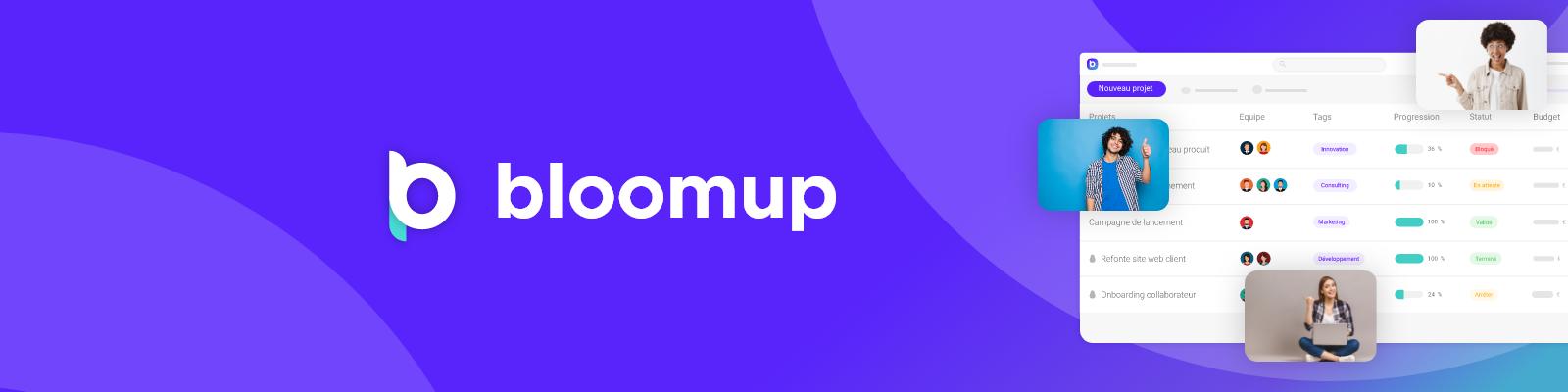 Avis Bloomup : Logiciel de gestion de projets - appvizer