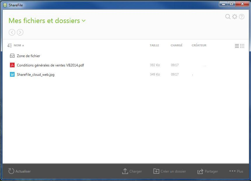 ShareFile by Virtuelbureau: Compatible Window OS, Support (téléphone, email, ticket), Standard d'encodage avancé (AES)