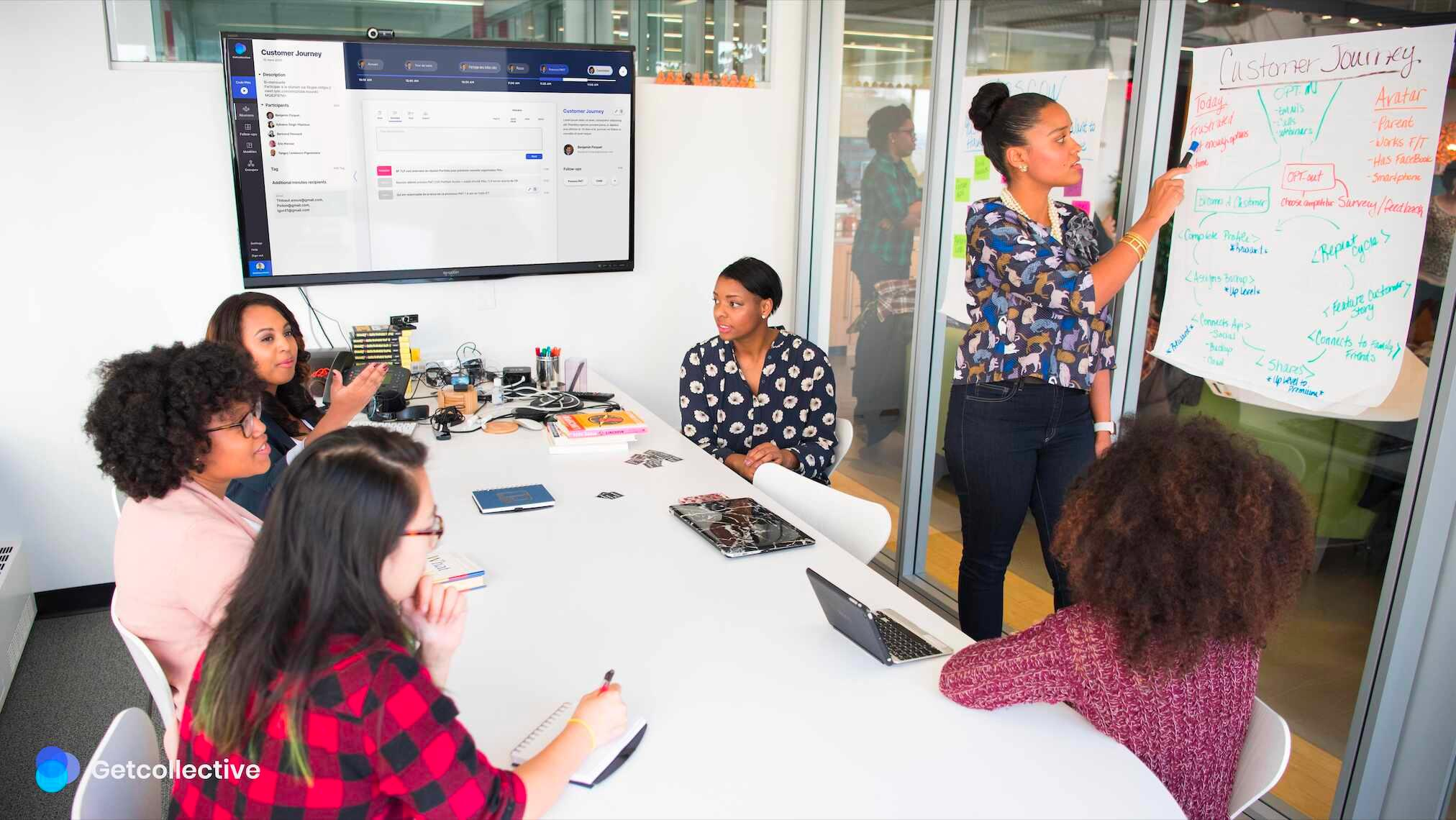 Exemple d'utilisation en réunion