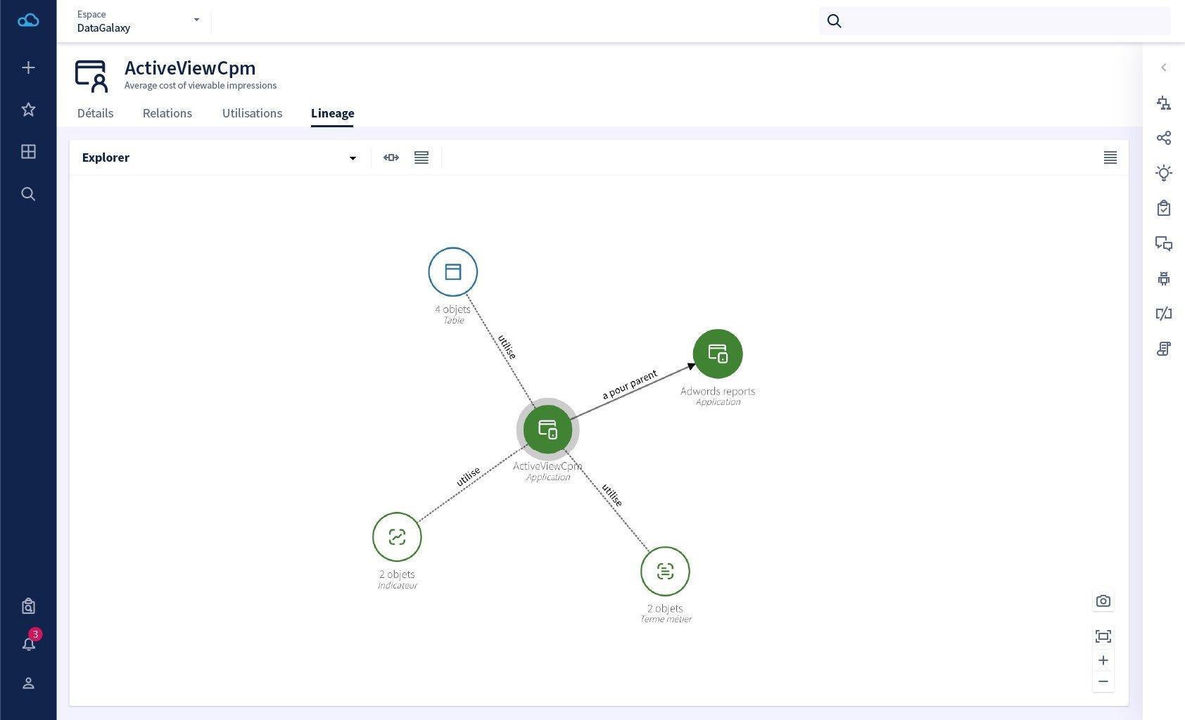 Les datalineages sont essentiels pour analyser le parcours des données et maîtriser les risques liés à vos usages des données.