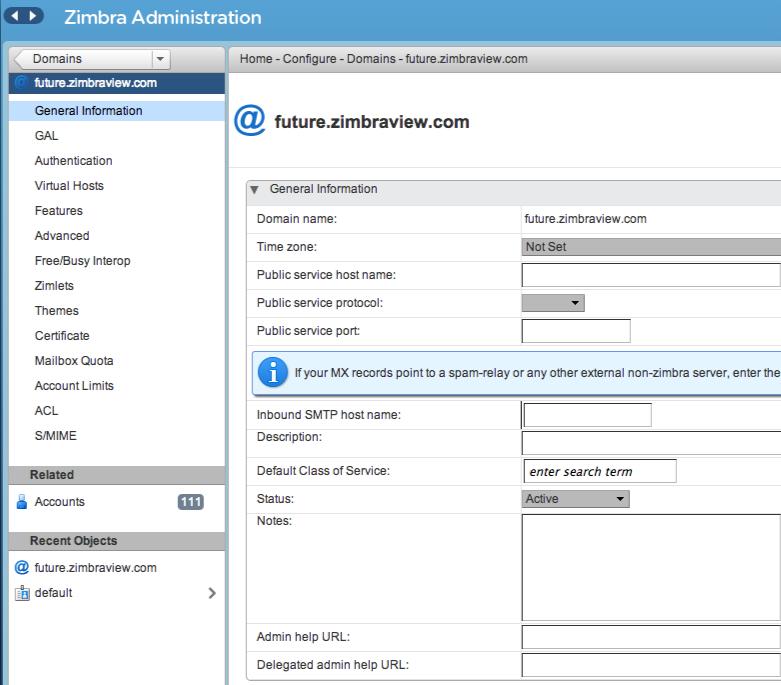 Zimbra: Documents partagés, Réversibilité totale des données, Editeur de présentations