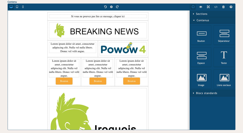 Iroquois-Envois   Campagnes   test   Messages (2) copie