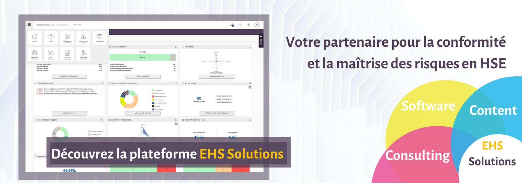 Avis EHS Solutions Red-on-line : Solution QHSE globale : veille, conformité, risques pro HSE - Appvizer