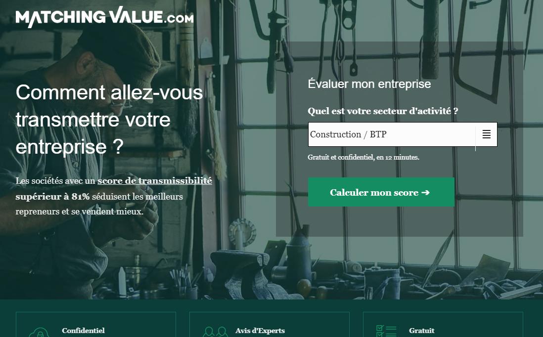 Avis Matching Value : Coach pour vendre votre entreprise - Appvizer